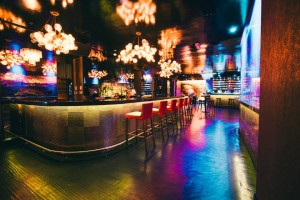 (Party Size Up to 8) Enjoy an intimate table experience with your closest companions, elevated VIP area overlooking the socialites, A-list guests, celebrities, and DJ's.